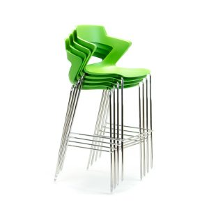 Zen Chrome Stool