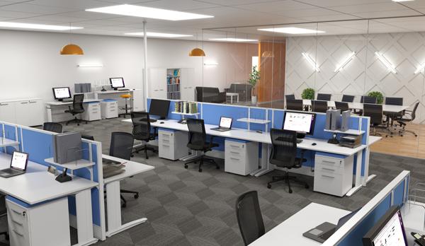 Aero Single Desks